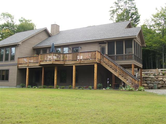 Side View with deck